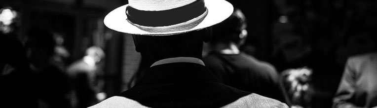 Suit Panama Hat